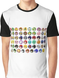 ~ Smash Roster ~ Graphic T-Shirt