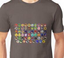 ~ Smash Roster ~ Unisex T-Shirt