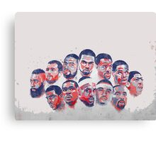 All star all in Canvas Print