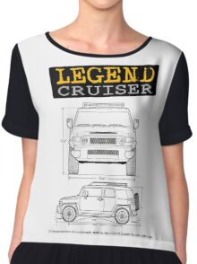 Legend Cruiser  Chiffon Top