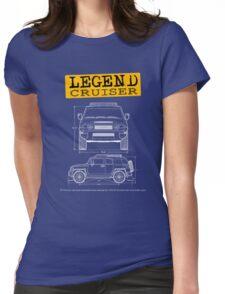 Legend Cruiser  Womens Fitted T-Shirt