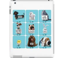 the secret life of pets & Freinds iPad Case/Skin