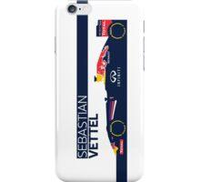 2014 Formula 1 RedBull Sebastian Vettel Race Car iPhone Case/Skin