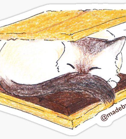 S'meowrs - Cat Sticker Sticker