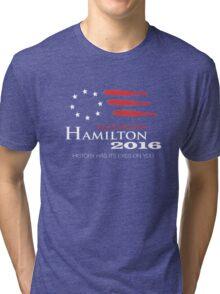Hamilton 2016 Tri-blend T-Shirt