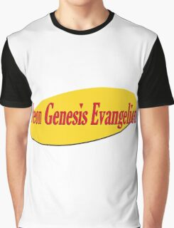 Neon Seinfeld Evangelion Graphic T-Shirt