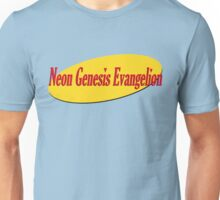 Neon Seinfeld Evangelion Unisex T-Shirt