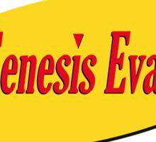 Neon Seinfeld Evangelion Sticker