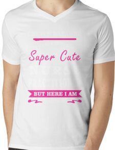 I Never Dreamed I'd Grow Up To Be A Super Cute Nurse Practitioner T-shirts Mens V-Neck T-Shirt