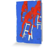 red nudes Greeting Card
