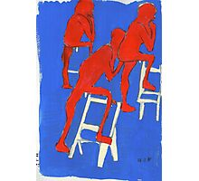 red nudes Photographic Print