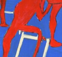 red nudes Sticker