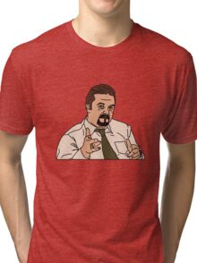 The Office UK, David Brent Tri-blend T-Shirt
