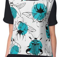 Exotic beetles Chiffon Top