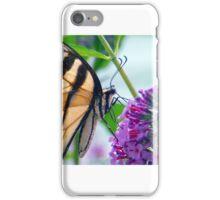 Beautiful Butterfly on Butterfly Bush iPhone Case/Skin
