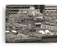 City Roofs Canvas Print