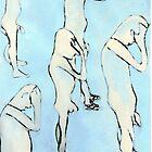 blue nude by H J Field
