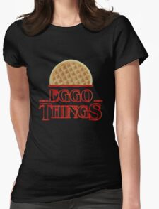Eggo things Womens Fitted T-Shirt