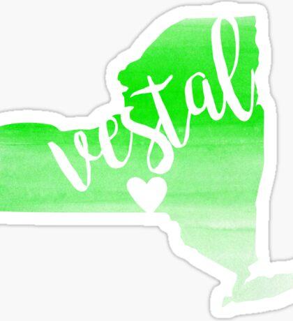 Vestal Sticker