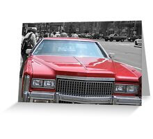 All Cadillac Greeting Card