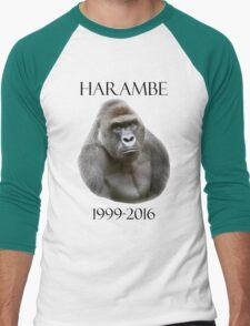 RIP harambe Men's Baseball ¾ T-Shirt