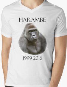 RIP harambe Mens V-Neck T-Shirt