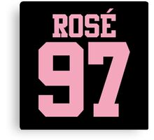 BLACKPINK Rose 97 (Pink) Canvas Print