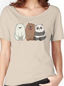 We Bare Bears Babys Women's Relaxed Fit T-Shirt