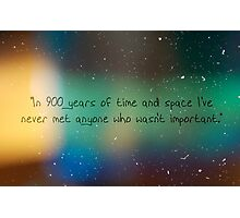 900 Years of Time and Space. Photographic Print