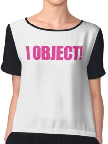 Legally Blonde - I Object! Chiffon Top