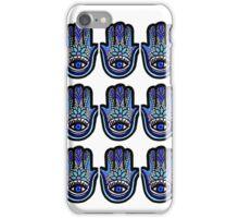 Hamsa Blu  iPhone Case/Skin
