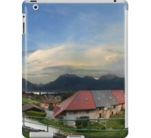 On the slopes of La Panoramic, Lake Annecy iPad Case/Skin