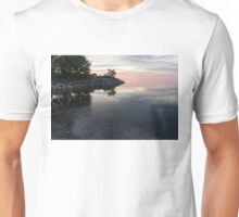Soft Pinks and Purples - Silky Morning on Lake Ontario Unisex T-Shirt