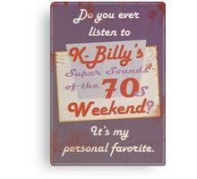 Reservoir Dogs: K-Billy Canvas Print
