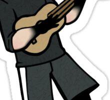 ukulele punk  Sticker