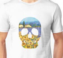 Van Gogh Skull Unisex T-Shirt