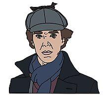 Sherlock, Benedict Cumberbatch Photographic Print