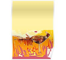 Colours of a Pheasant Leaf Bird  Poster