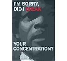 Pulp Fiction: Concentration Photographic Print