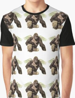 Harambe from above Graphic T-Shirt