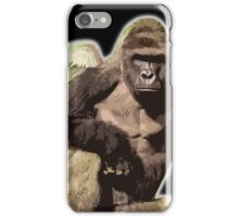 Harambe from above iPhone Case/Skin