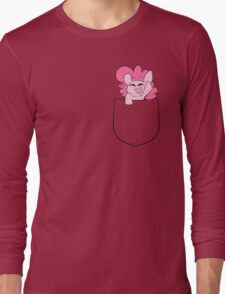 Pinkie in a Pocket Long Sleeve T-Shirt
