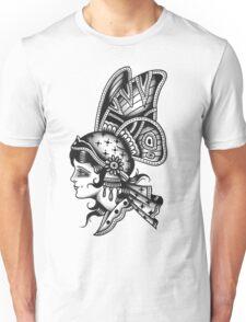 Tattoo Butterfly Girl Unisex T-Shirt
