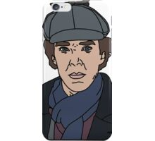 Sherlock, Benedict Cumberbatch iPhone Case/Skin