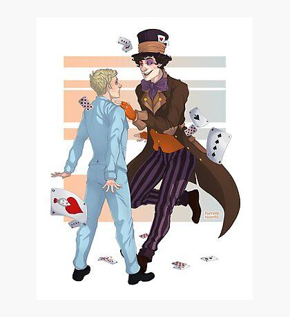 John in Wonderland Photographic Print