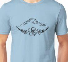Floral Mountain Unisex T-Shirt
