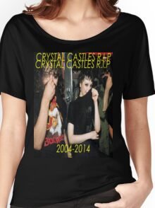 Rip Crystal Castles Women's Relaxed Fit T-Shirt