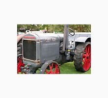 Grey and red vintage tractor Unisex T-Shirt
