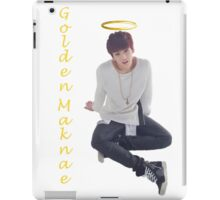Jungkook- Golden Maknae iPad Case/Skin