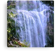 Bridal Veil Falls Close Canvas Print